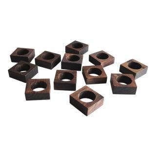 Mid-Century Napkin Rings - Set of 12