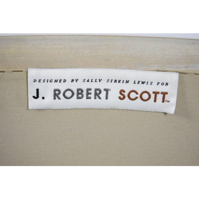 J. Robert Scott Salon Deco Lounge Chairs by Sally Sirkin Lewis- Set of 8 For Sale - Image 10 of 10