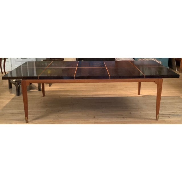 1950s Mahogany Extension Dining Table by Tommi Parzinger for Parzinger Originals For Sale - Image 13 of 13