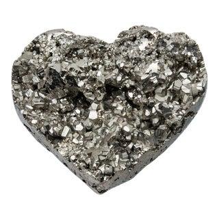 Medium Pyrite Heart For Sale