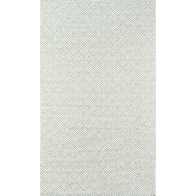 "Plastic Madcap Cottage Baileys Beach Beach Club Green Indoor/Outdoor Area Rug 5' X 7'6"" For Sale - Image 7 of 7"