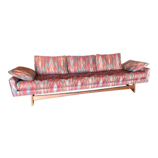 1950s Vintage Adrian Pearsall Low Gondola Sofa For Sale