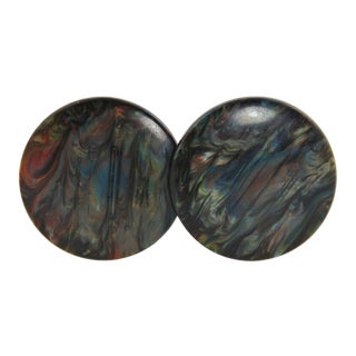 1980's Vintage Missoni Couture Earrings For Sale