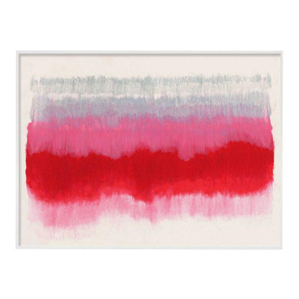 """""""ColorCake (Grey, Pink, Red)"""" Unframed Print For Sale"""