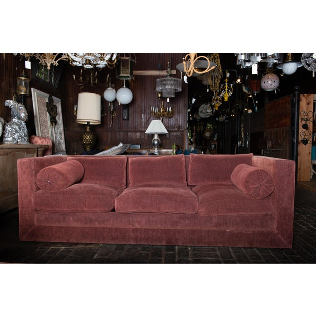 1990s Vintage Custom Made John Saladino Sofa For Sale - Image 33 of 34