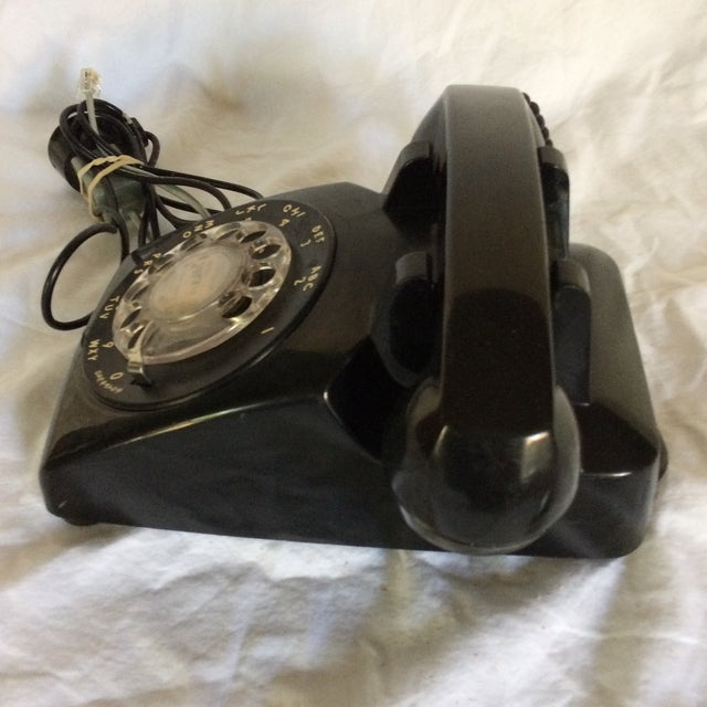 Vintage Black Western Electric Telephone - Image 3 of 11