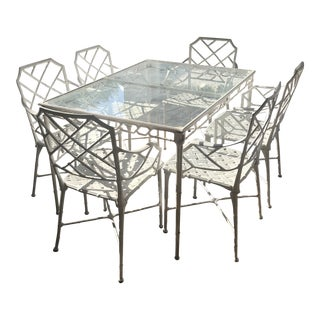 Brown Jordan Calcutta Dining Set For Sale