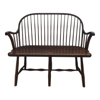 Duckloe 18th Century Style Windsor Bench For Sale