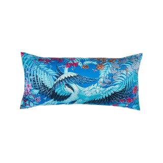 """Flamingo Party"" Hermès Silk Scarf Pillow For Sale"