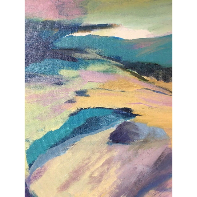 Jane Heller Vintage Mid Century Modern Abstract Expressionist Oil Painting For Sale In New York - Image 6 of 11