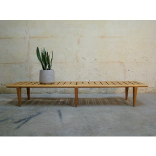 1960s Vintage Hans Wegner Slat Bench Preview