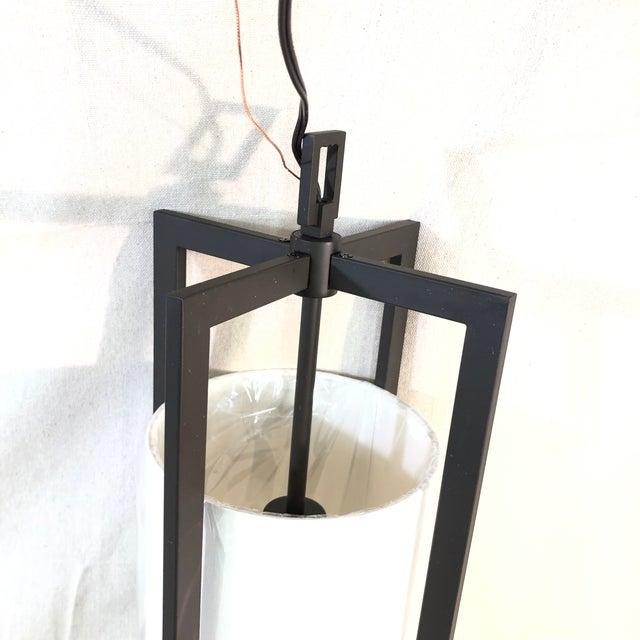 Modern Hinkley Lighting Hampton Pendant Light in Buckeye Bronze For Sale - Image 3 of 8