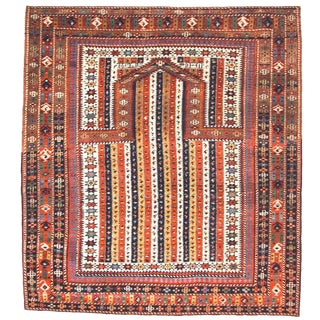 Caucasian Shirvan Prayer Rug