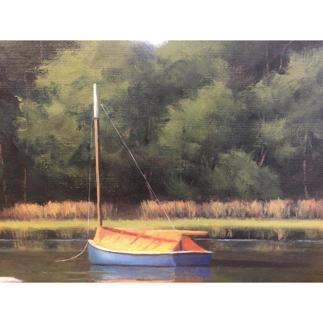 Ronald Tinney Ronald Tinney, Summer Colors Painting, 2018 For Sale - Image 4 of 7