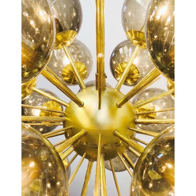 Ventiquattro Sputnik Chandelier by Fabio Ltd For Sale - Image 9 of 13