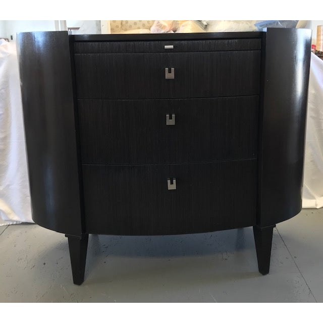 Side Tables by Axis Furniture Black Wood - A Pair For Sale - Image 9 of 13