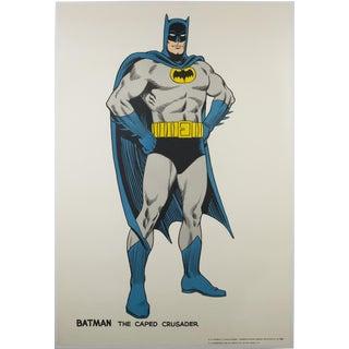 Vintage 1966 Batman Poster - Carmine Infantino For Sale