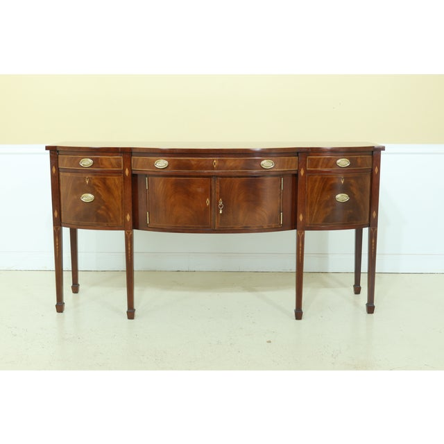 Kindel National Trust Collection Federal Mahogany Sideboard For Sale - Image 13 of 13