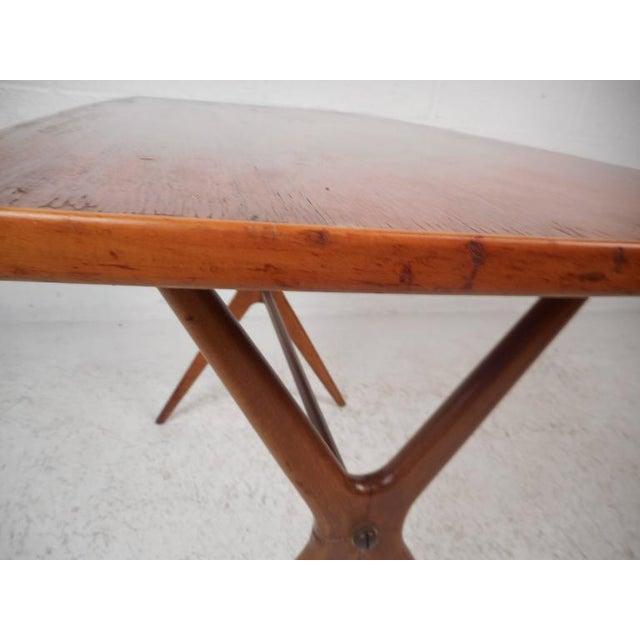 Mid-Century Modern Teak End Table - Image 6 of 11