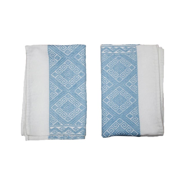 Hand-Woven Chiapas Placemats - Pair - Image 1 of 6