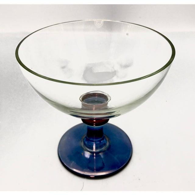 1960s Vintage Mid-Century Modern Italian Cristallerie Bowl For Sale - Image 4 of 8