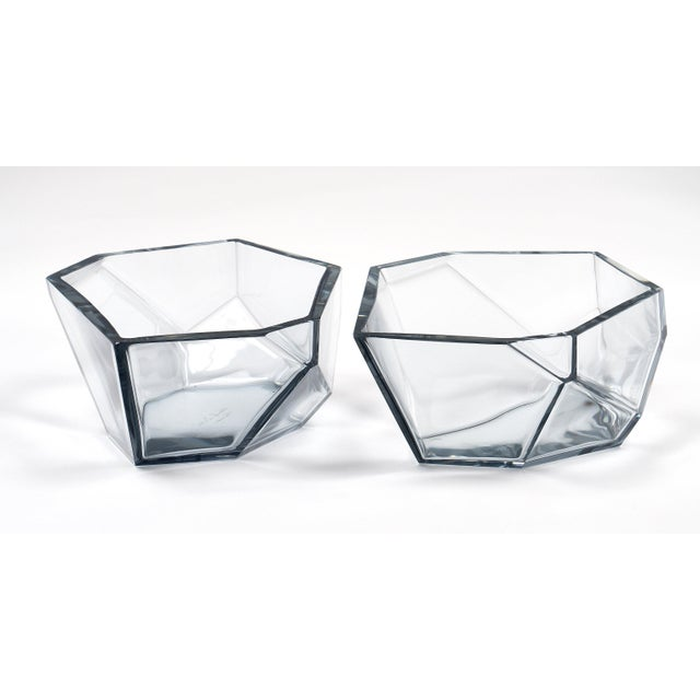 Contemporary A. Donna Geometric Murano Glass Bowls For Sale In Austin - Image 6 of 12