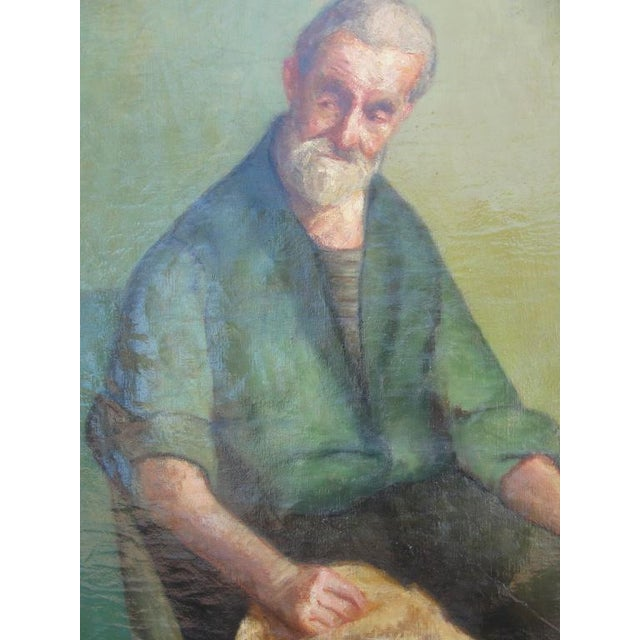 Early 20th Century Oil on Canvas Portrait of a Man - Image 2 of 8