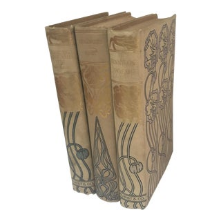 1900's Hurst & Co Books - Set of 3 For Sale