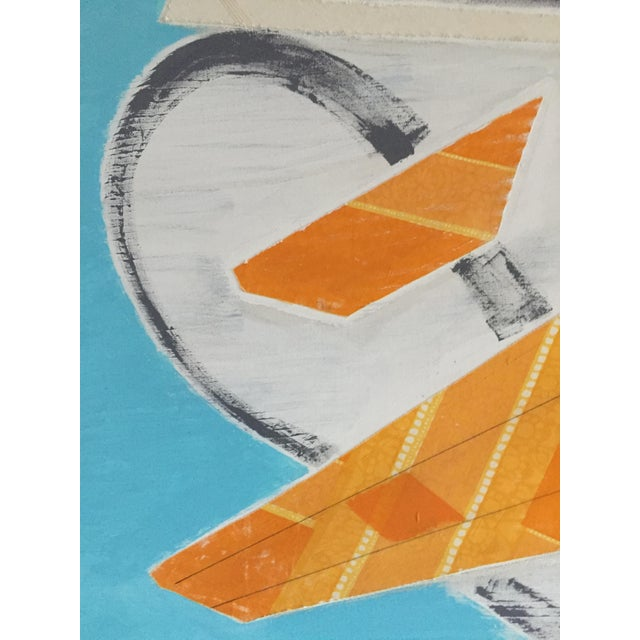 Large Original Mixed Media Modern Art on Canvas For Sale In Baltimore - Image 6 of 8