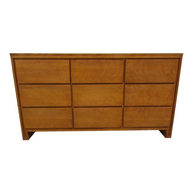 Leslie Diamond For Conant Ball Nine Drawer Dresser For Sale