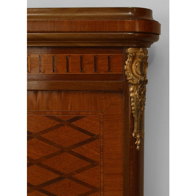 Louis XVI French Louis XVI Style Ormolu-Trimmed Mahogany Bed For Sale - Image 3 of 4