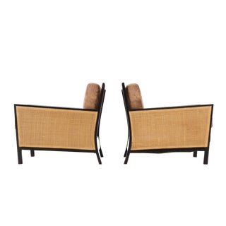 Pair of Early Milo Baughman Lounge Chairs