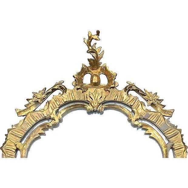 Rococo Antique Rococo Style Wall Mirror For Sale - Image 3 of 5