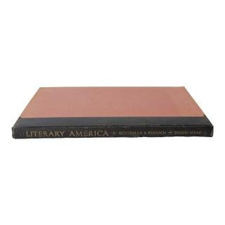 """Literary America"" Book by David E. Scherman and Rosemarie Redlich For Sale"