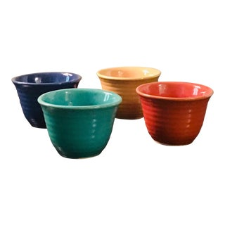 Bauer Ware Custard Cups - Set of 4 For Sale