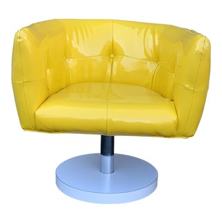 1960s Milo Baughman Swivel Chair For Sale