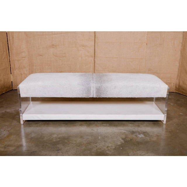 Yves Lucite benches. Add style and a touch of modern glam to any room with the Yves Lucite bench. Perfect at the foot of...
