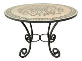 Image of Islamic Outdoor Dining Tables
