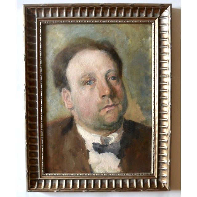Paint Otto Hanrath Oil Painting Portrait For Sale - Image 7 of 7