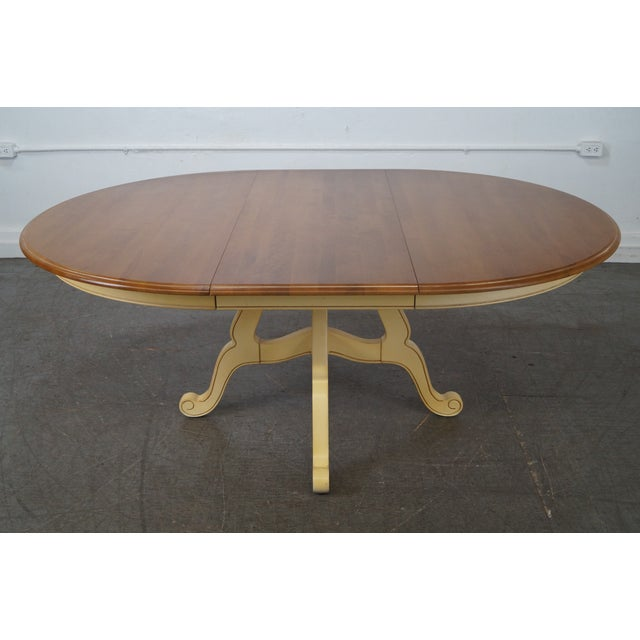 Ethan Allen Country French Round Dining Table Chairish