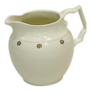 Late 19th Century Pitcher by Hall Pottery For Sale