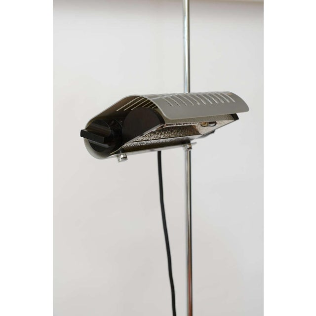 Metal Joe Colombo Alogena for O-Luce Italian Adjustable Floor Lamp For Sale - Image 7 of 10