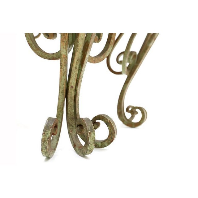 Mid 19th Century Wrought Iron Coffee Table For Sale - Image 5 of 7