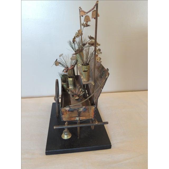 Vintage Curtis Jere Sculpture - Image 5 of 7
