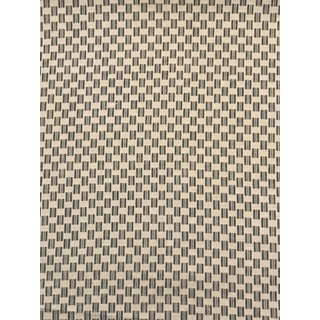 """Contemporary Zak & Fox """"Kesa"""" Fabric - 5 1/2 Continuous Yards in the Color Snow For Sale"""