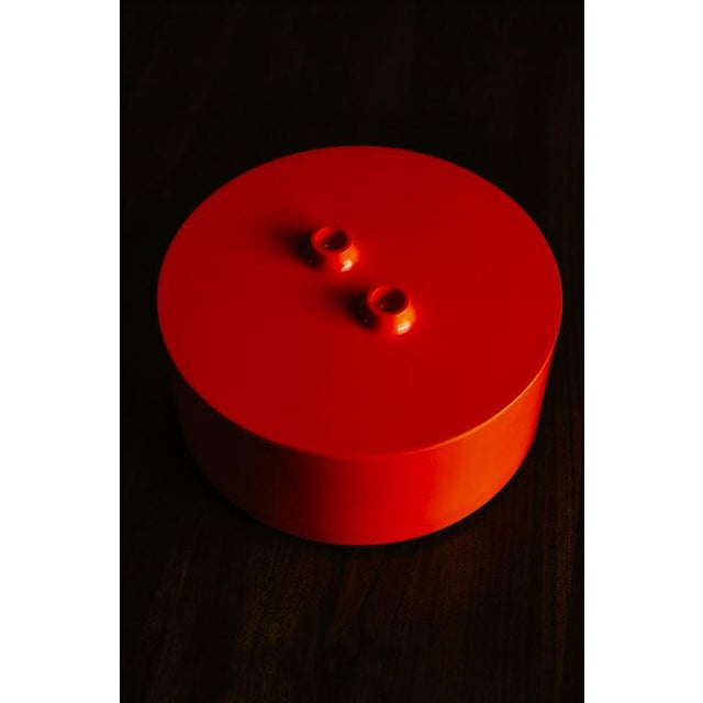 Vintage Mid-Century Massimo Vignelli Heller Plate Storage Container For Sale - Image 10 of 10