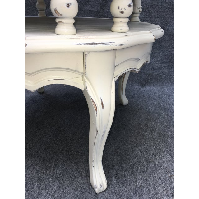 Vintage 2 Tiered Mersman Accent Table For Sale - Image 5 of 11