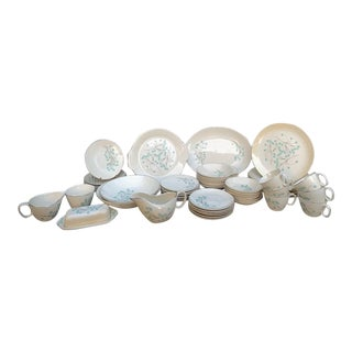 Sorrento Royal China Dinnerware Set - Pieces Total For Sale