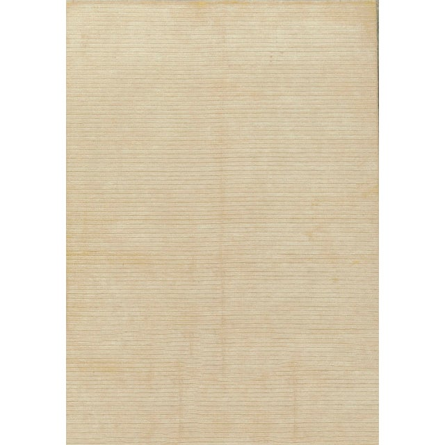 Contemporary Hand Woven Rug - 4'11 X 7' For Sale - Image 4 of 4