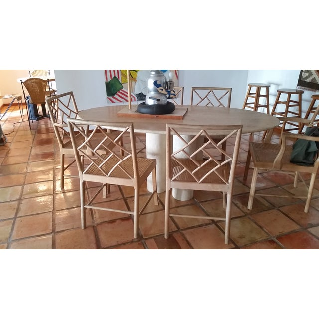 Maple Rattan Dining Chairs - 6 - Image 5 of 5